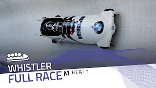 Whistler | BMW IBSF World Cup 2016/2017 - 4-Man Bobsleigh Heat 1 | IBSF Official