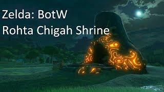 Zelda: BotW Stop to Start. Rohta Chigah Shrine