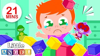 We made a mess | Hot Cross Buns | Humpty Dumpty, Princesses & more Fun Kids Songs by Little Angel