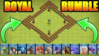 """A MUST WATCH"" 🔥 ALL TROOP ROYAL RUMBLE!! 🔥 Clash Of Clans"