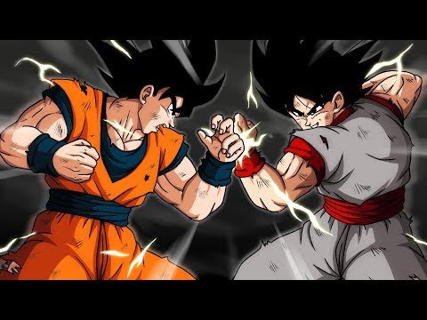 Goku vs. Evil Goku