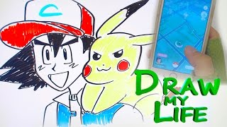 DRAW MY LIFE - Ash (Pokemon)