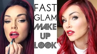 Fast Glam 7 Minute Makeup Tutorial