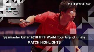 2016 World Tour Grand Finals Highlights: Ma Long vs Fan Zhendong (Final)