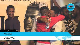 Shatta Wale performs