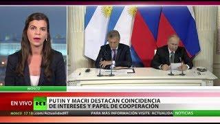 Las claves de la reunión de Mauricio Macri y Vladímir Putin en Moscú
