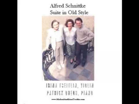Alfred Schnittke Suite in Old Style