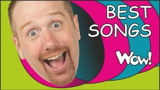 Best Songs for Kids from Steve and Maggie | Where is the Ball + MORE English Stories | Wow English