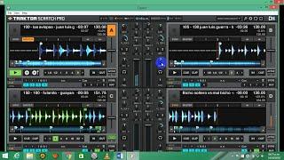Mezclando en vivo con TRAKTOR-merengues cumbias (2016) [ VALLEJO DJ ]