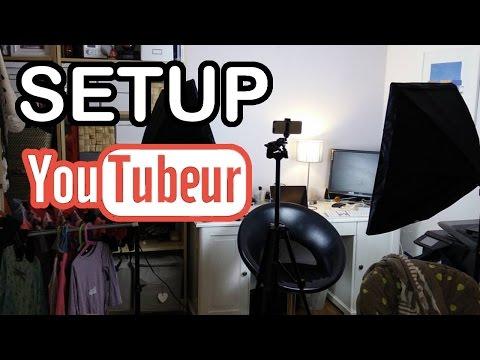 Setup pas cher pour YouTubeur débutant Matériel