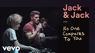 """Jack & Jack - """"No One Compares to You"""" Official Performance 