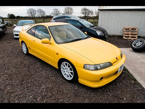 Yellow Jdm Honda Integra DC2 Gets 6TWO1'd & B18 Coupe gets 6TWO1'd