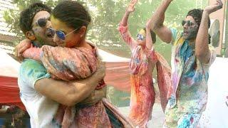 Alia Bhatt And Varun Dhawan HOLI Celebration At Zoom Holi Party 2017