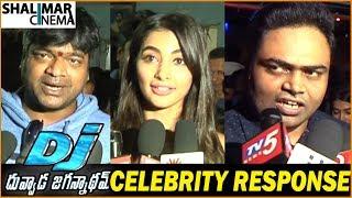 DJ Movie Celebrity Response    Allu Arjun, Pooja Hegde, Vamsi Paidipally    Shalimarcinema