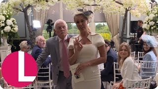 Emmerdale: Behind The Scenes at Leyla and Pete's Wedding | Lorraine