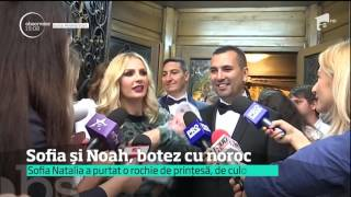 Bianca Drăgușanu și Andreea Bănică și-au botezat copiii în aceeași zi