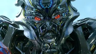 Transformers: Age of Extinction - Optimus Prime vs. Galvatron & Lockdown 1080p