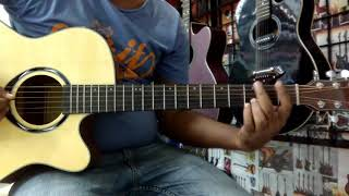 Mon tore parlam na bujhaite By Shunno/sona dia bandhaiachi ghor version Guitar lessons