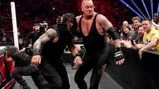 Undertaker vs Roman Reigns - WWE 2014