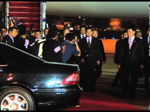 Chinese Prime Minister Wen Jiabao arrives Thailand on Nov 20