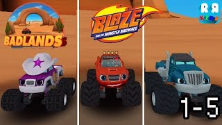 Blaze and the Monster Machines -  Badlands Track 1 - 5