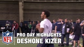 Deshone Kizer Pro Day Highlights & Mike Mayock