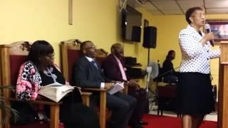 DFM Servant Verona Williams   Presents Brief History of Watchnight Service   2016 New Year