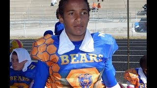 2014 Nathaniel Davis - Clay Bears Football 12u