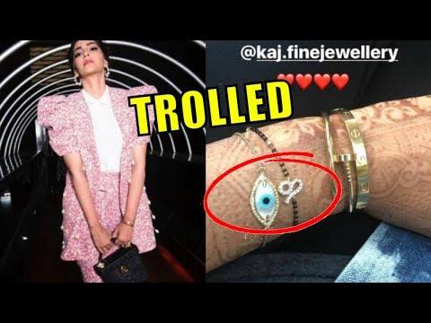 Sonam Kapoor TROLLED For Wearing Mangalsutra As Bracelet