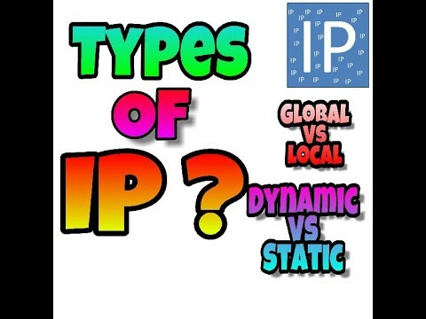 What Is GLOBAL IP/LOCAL IP/DYNAMIC IP/STATIC IP ? The Difference ||