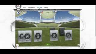 FIFA 13 Ultimate team - Mega pack opening episode 2 (ft.NEUER,..)