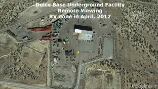 Remote Viewing of Dulce Base Underground Secret Facility (April, 2017)