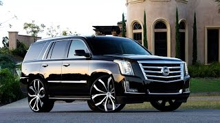Cadillac Escalade on Lexani Wheels
