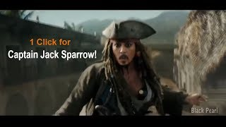 Best of Captain Jack Sparrow - Most Amazing Bank Robbery Scene - Whatsapp Status Video✔