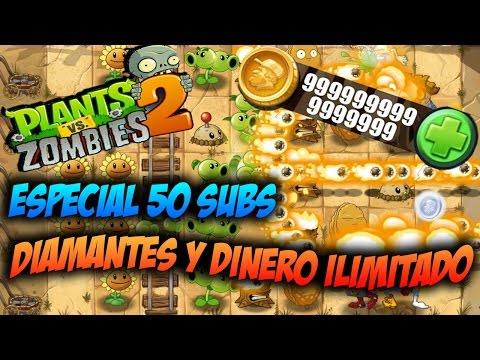Plants vs Zombies 2 Diamante dinero infinito NO HACK ACTUALIZABLE Especial 50 subs