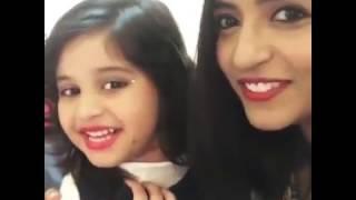 Aadya Udupi baby doll with Sangeetha Rajeev