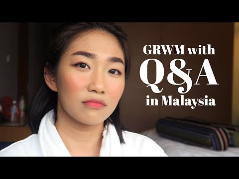 GRWM + Q&A: LOVELIFE, WHEN I STARTED YT, NEGATIVE TRAITS KO and MORE | Raiza Contawi