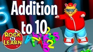 Learn to Add up to 10 | Addition Rap