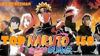 Naruto Top 150 Strongest Characters