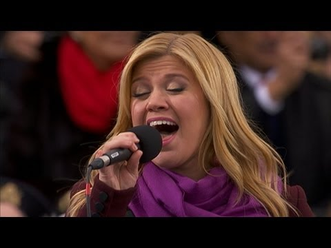 Xxx Mp4 Kelly Clarkson Sings My Country Tis Of Thee At Inauguration Day 2013 3gp Sex