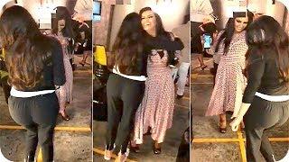 رقص مريم حسين مع العنود الحربي في حفل خطوبتها