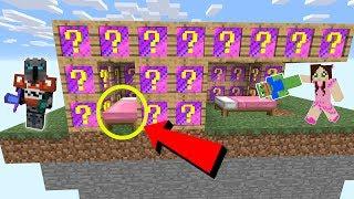 Minecraft: *FAKE* MEMES LUCKY BLOCK BEDWARS! - Modded Mini-Game