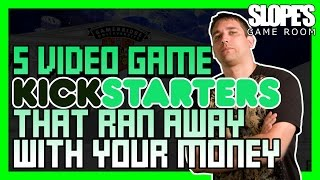 5 Video Game Kickstarters That Ran Away with your Money! | Dan Ibbertson