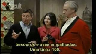 Jerry Lewis - O Otário - The Patsy - cena Aula de Canto