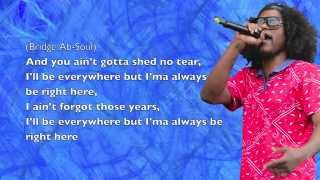 Schoolboy Q - Blessed (ft. Kendrick Lamar) - Lyrics