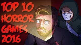 TOP 10 HORROR GAMES OF 2016 [Critical Hit]