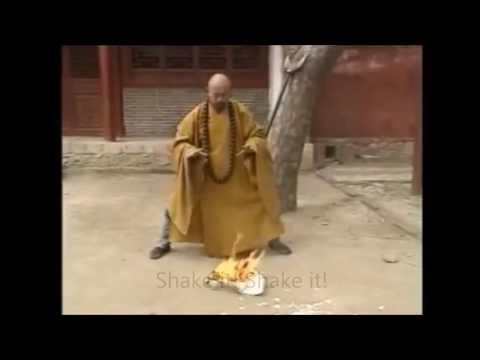 5 Steps of fire starting Chi master and Energy harness technique