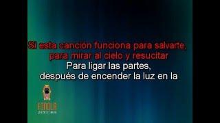 Karaoke - Un poco perdido (Estilo Tan Biónica)