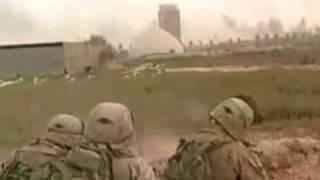 U.S. Marines Battle Insurgents In Baghdad, Iraq