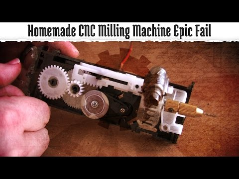 Homemade CNC Milling Machine Epic Fail